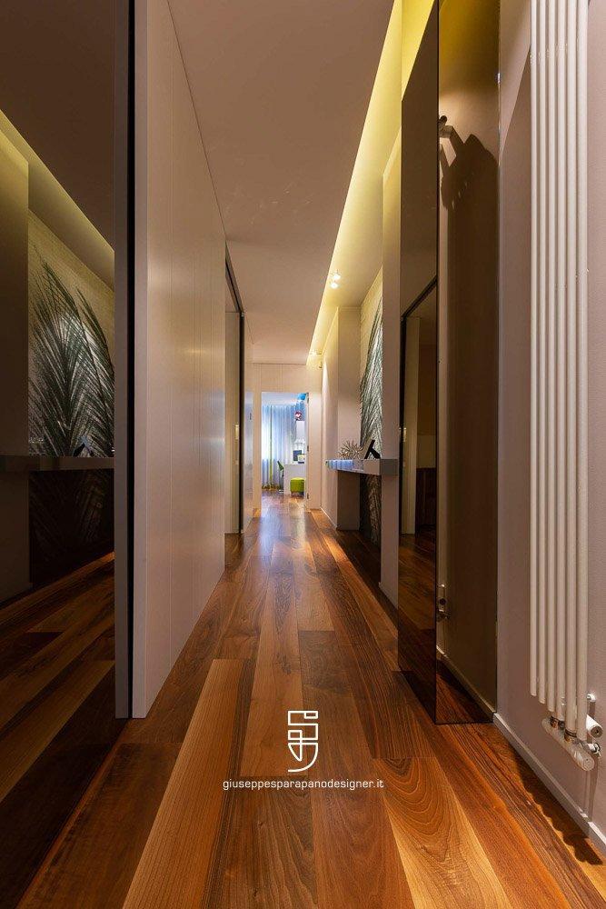 particolare di un corridoio
